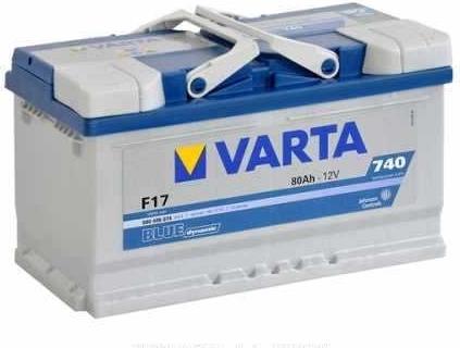 Varta Blue Dynamic 80 Ah