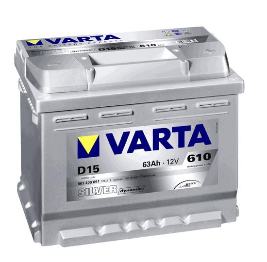 Varta Silver Dynamic 63 Ah