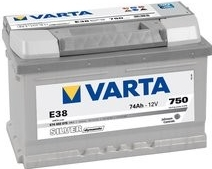 Varta Silver Dynamic 74 Ah 12v 74 Ah 750A