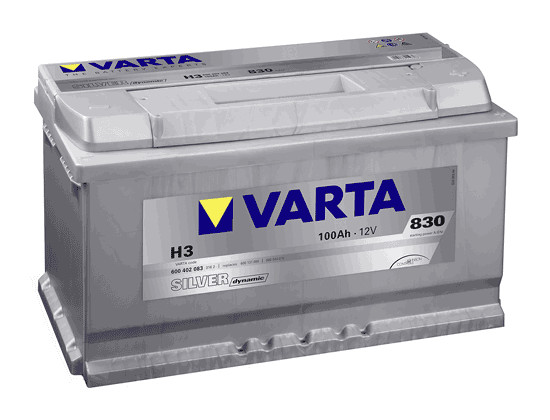 Varta Silver Dynamic 100 Ah 12v 100 Ah 830A