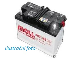 Autobaterie Moll 55 Ah 420 A