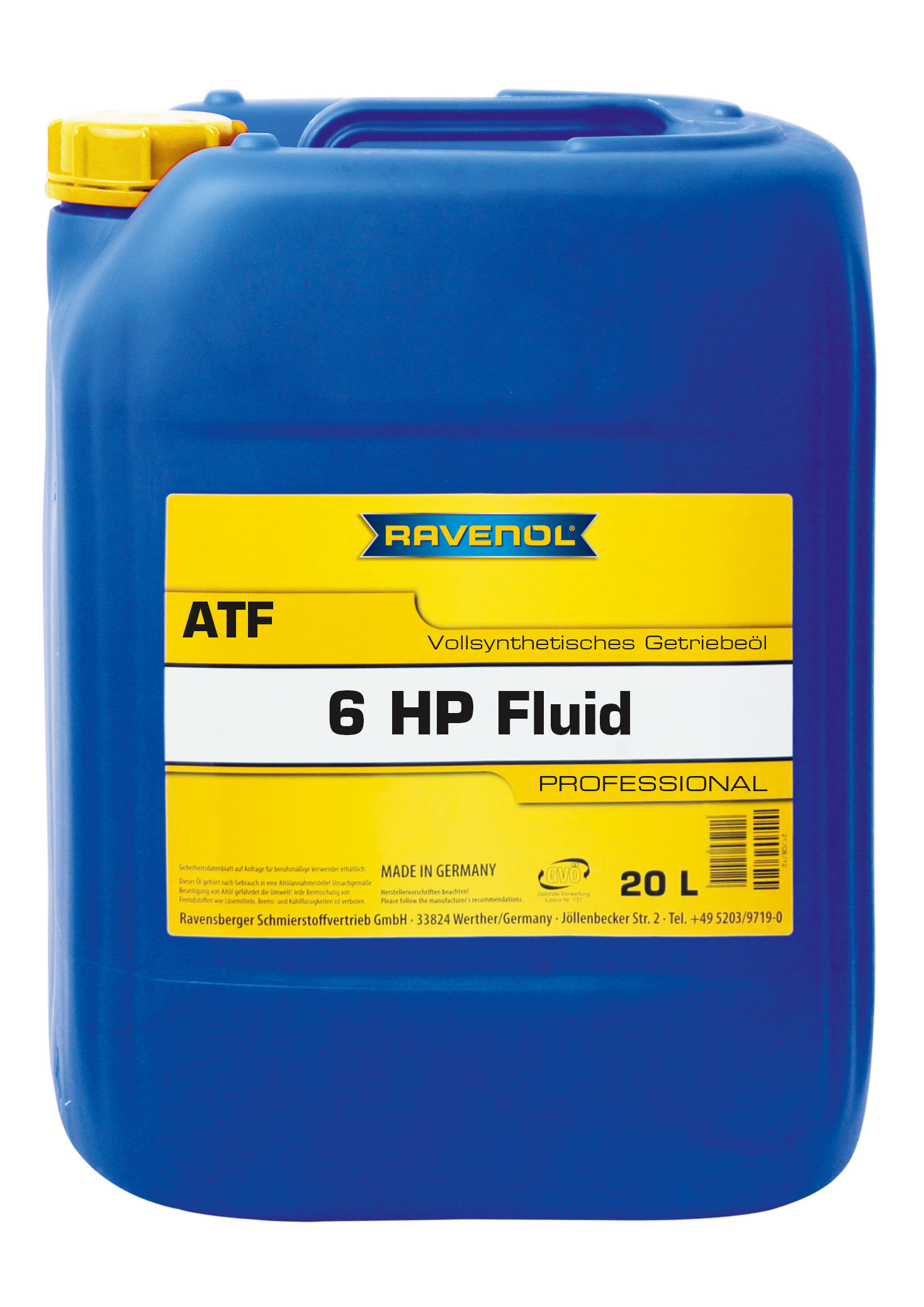 Ravenol ATF 6HP Fluid 20L