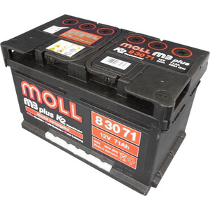 Autobaterie Extra Moll 70 Ah 760 A