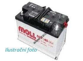 Autobaterie Moll 74 Ah 680 A