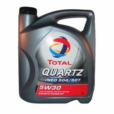 Total Quartz Ineo 5W30 5L, long life olej 5W30, bmw LL04
