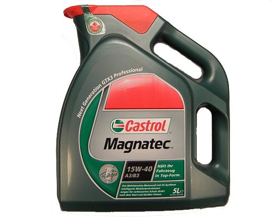 Castrol Magnatec 15w40 4L Motorový olej minerální