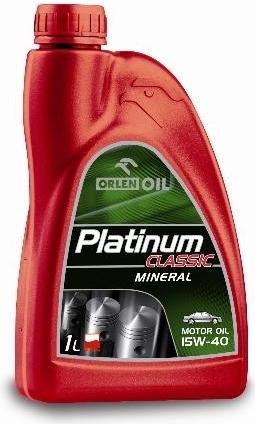Orlen 15w40 1L Platinum classic Celoroční minerální motorový olej