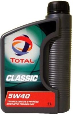 Total Classic 5w40 1L Syntetický motorový olej 5w40 1L
