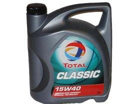 Total Classic 15w40 5L Minerální motorový olej 5L