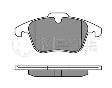 Brzdové desky přední, Ford Galaxy, S-max, Mondeo, 1747043 přední náprava
