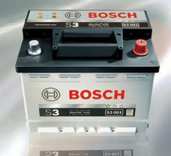 Startovací baterie BOSCH Silver S3 45 Ah 12V, 45 Ah, 400A