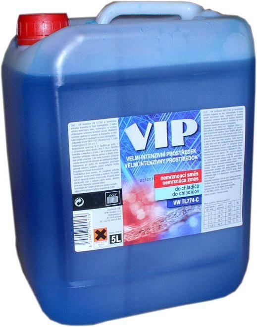 Kapalina do ostřikovačů VIP -40 5L - 40 (zimní) 5L