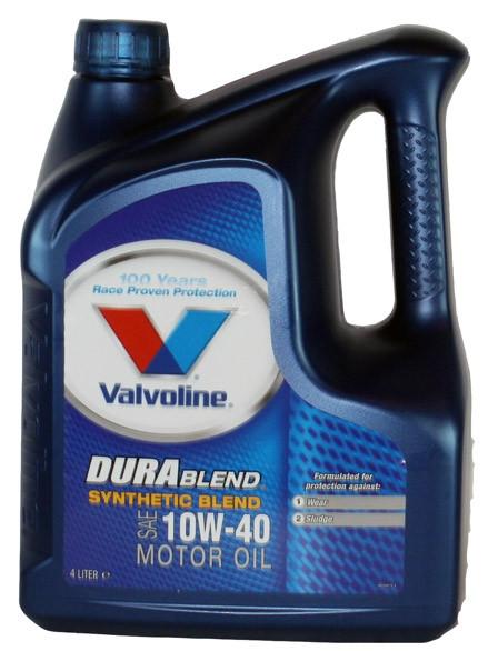 Valvoline Durablend 10W40 4L Polosyntetický motorový olej 4L