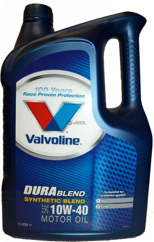Valvoline Durablend 10W40 5L Polosyntetický motorový olej 5L