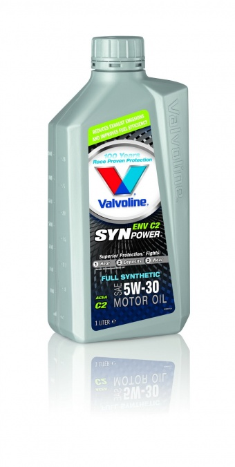 Valvoline SYNPOWER ENV POWER 5W30, plná syntetika, 5W30, long life