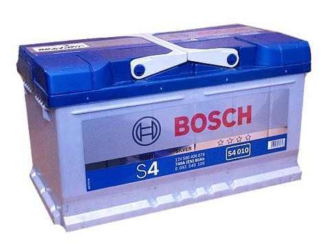 Startovací baterie BOSCH 80 Ah, 740 A, autobaterie Brno