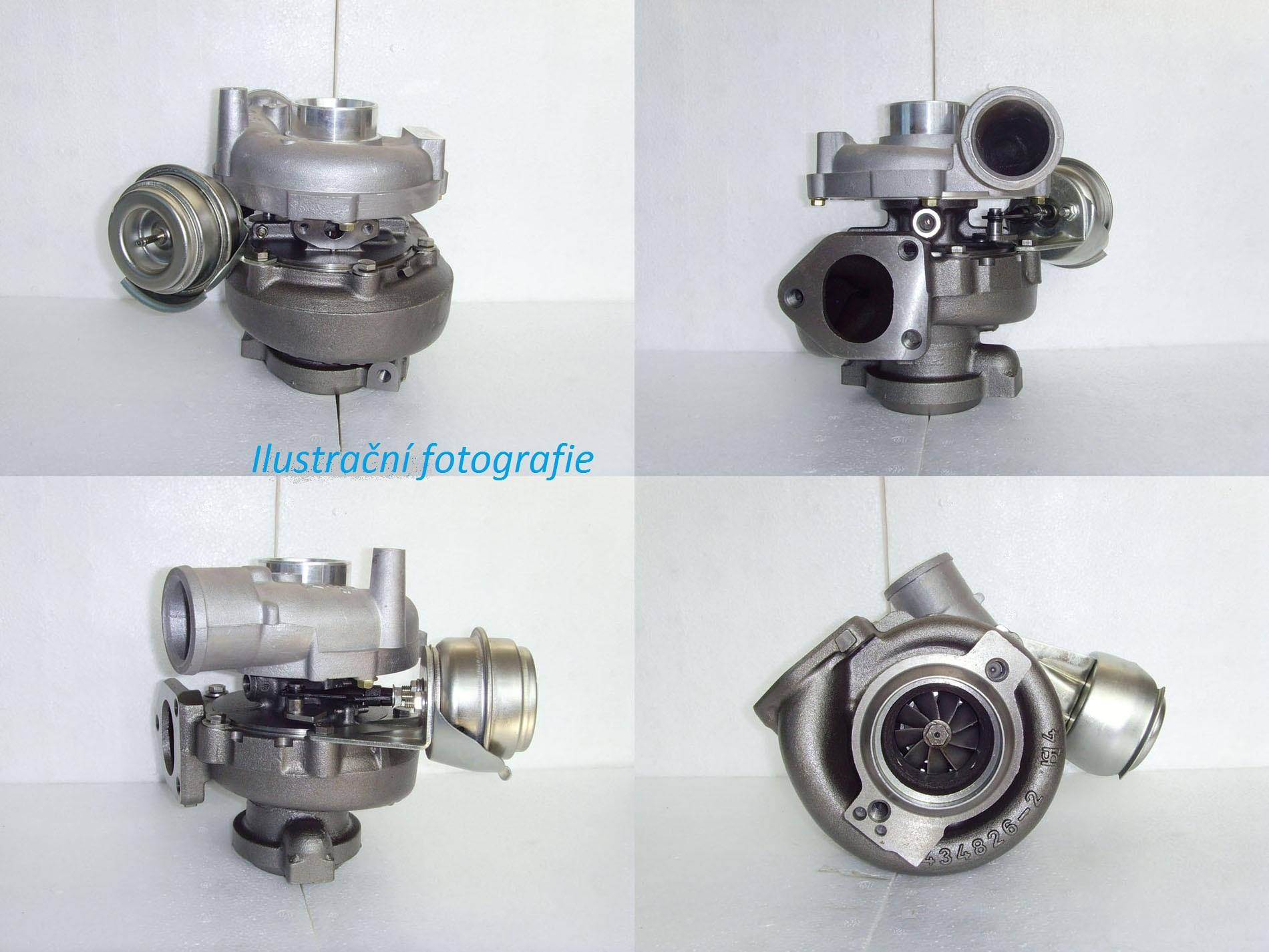 Nové turbodmychadlo BMW 530d, r.v. 98 -05, 135 - 142 KW Motorizace: 3.0d / 135 - 142 KW