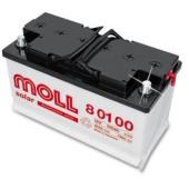 Autobaterie Moll 100 Ah 850 A 12V, 100 Ah, 850 A