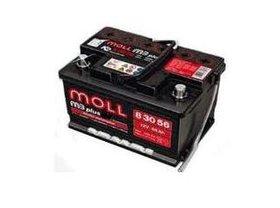 Autobaterie Moll M3 plus 110 Ah 850 A 12V, 110 Ah, 850 A