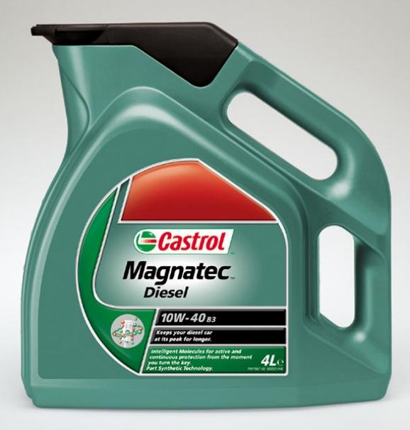 Castrol Magnatec Diesel 10W40 4L Polosyntetický motorový olej 4L