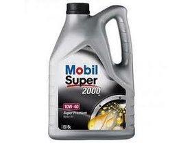 Mobil 10W-40 Super 2000 X1 5L Polosyntetický motorový olej, 5L