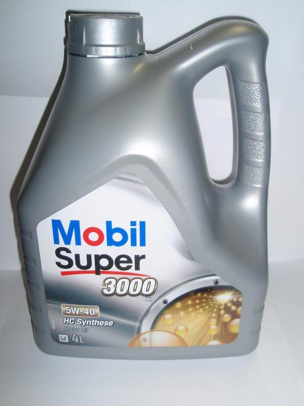 Mobil 5W40 3000X1 5l HC synthese Plně syntetický motorový olej 5l