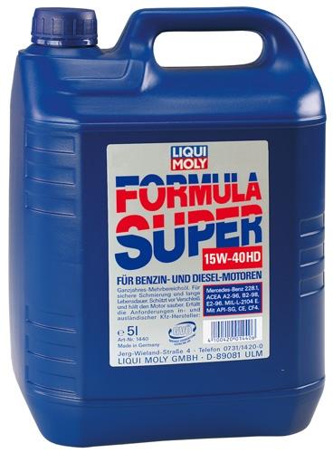 Liqui Moly 15W-40 Formula 1L minerální, vícerozsahový olej 1L