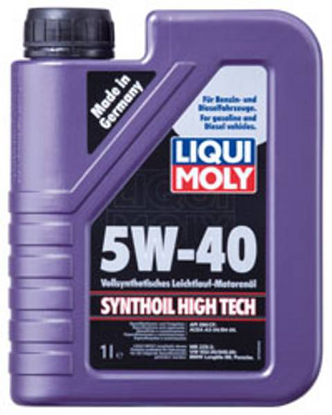 Liqui Moly High Tech 5W-40 1L Lehkoběžný pně syntetický motorový olej 1L