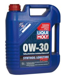 Liqui Moly 0W-30 Synthoil Plus 5L plně syntetický motorový olej 5L